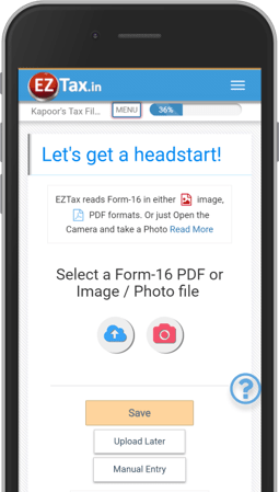 Get EZTax in ITR Filing App for AY 2018-2019 on Google Play