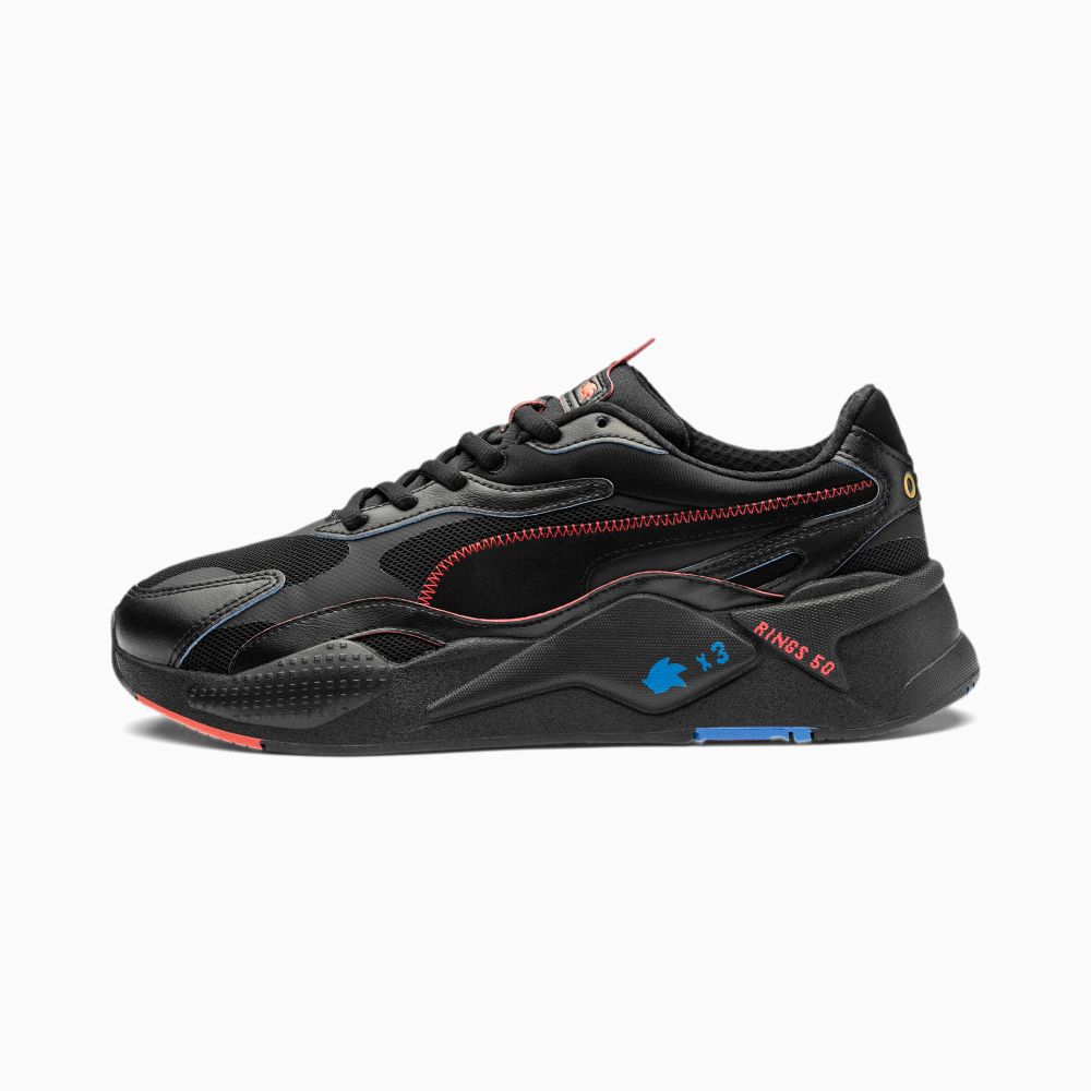 PUMA x SONIC RS in 2020 | Sneakers, Black puma, Puma outlet