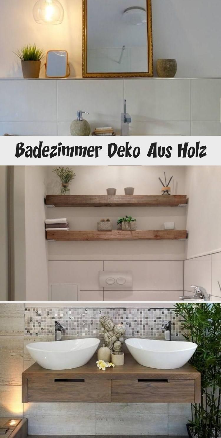 Modern Trifft Rustikal Holz Balken Regal Gste Wc Home Sweet Fur