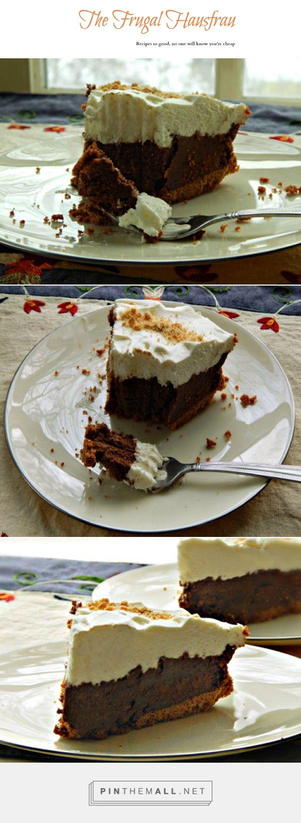 French Silk Pie | Frugal Hausfrau. Easy. Fantastic.
