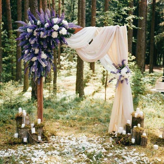MOST ATTRACTIVE PURPLE WEDDING INSPIRATIONS FOR 2019 SUMMER. – wedtrendy #purpleweddingflowers