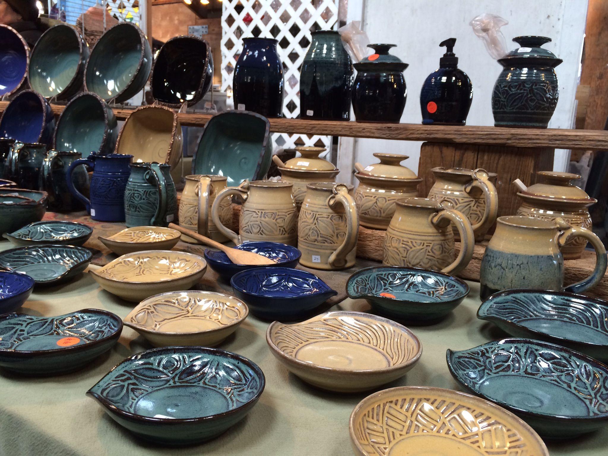 Handmade ceramics from Sunrise Beach Pottery. The kind of