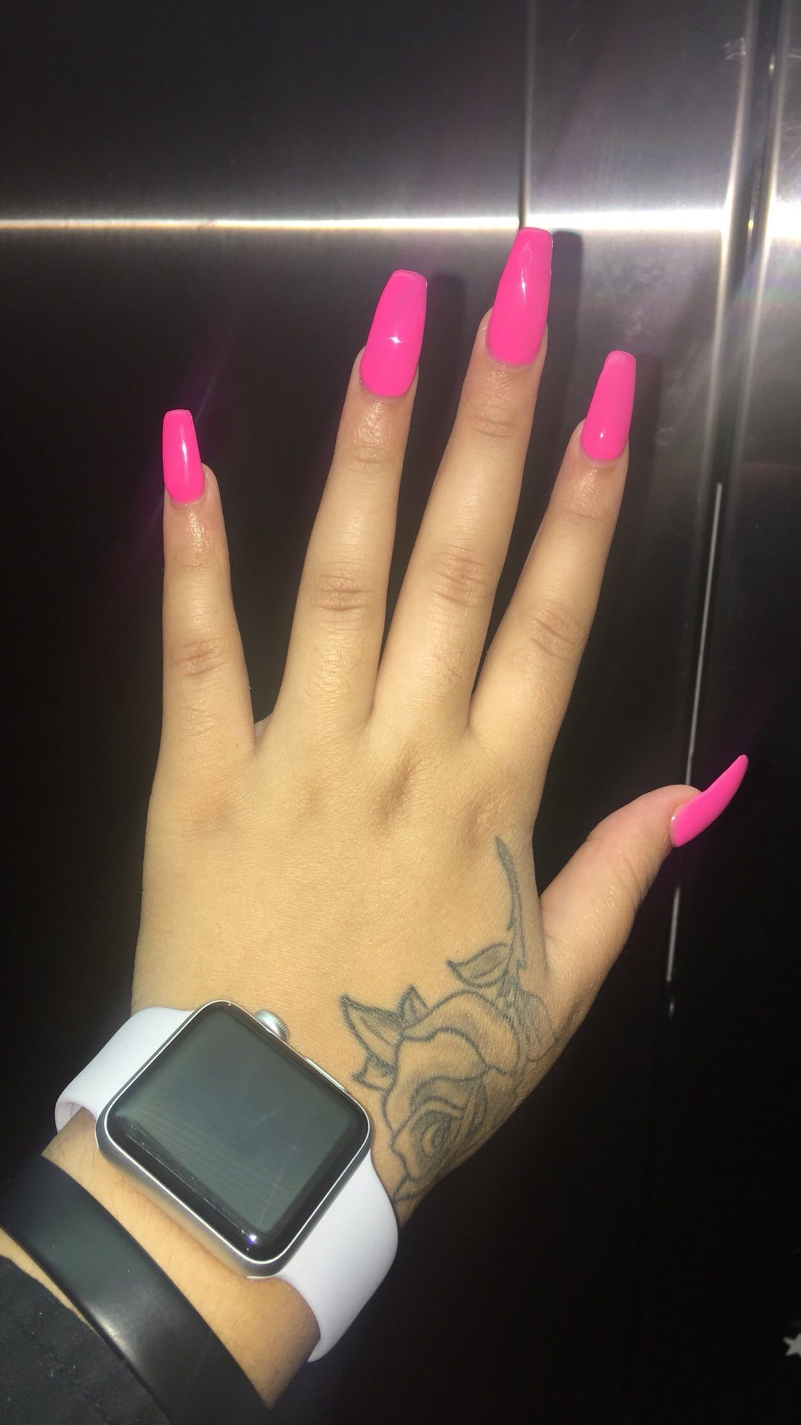 Pin by Pivervale on Nails | Pink acrylic nails, Nail ...