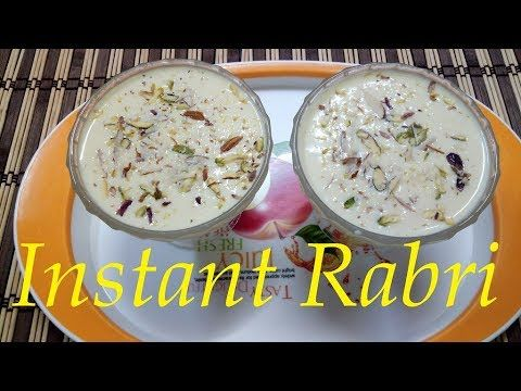Instant Rabri With Condensed Milk Quick Easy Instant Rabri Flavoured Milk Youtube Rabri Recipe Indian Cooking Rabdi Recipe