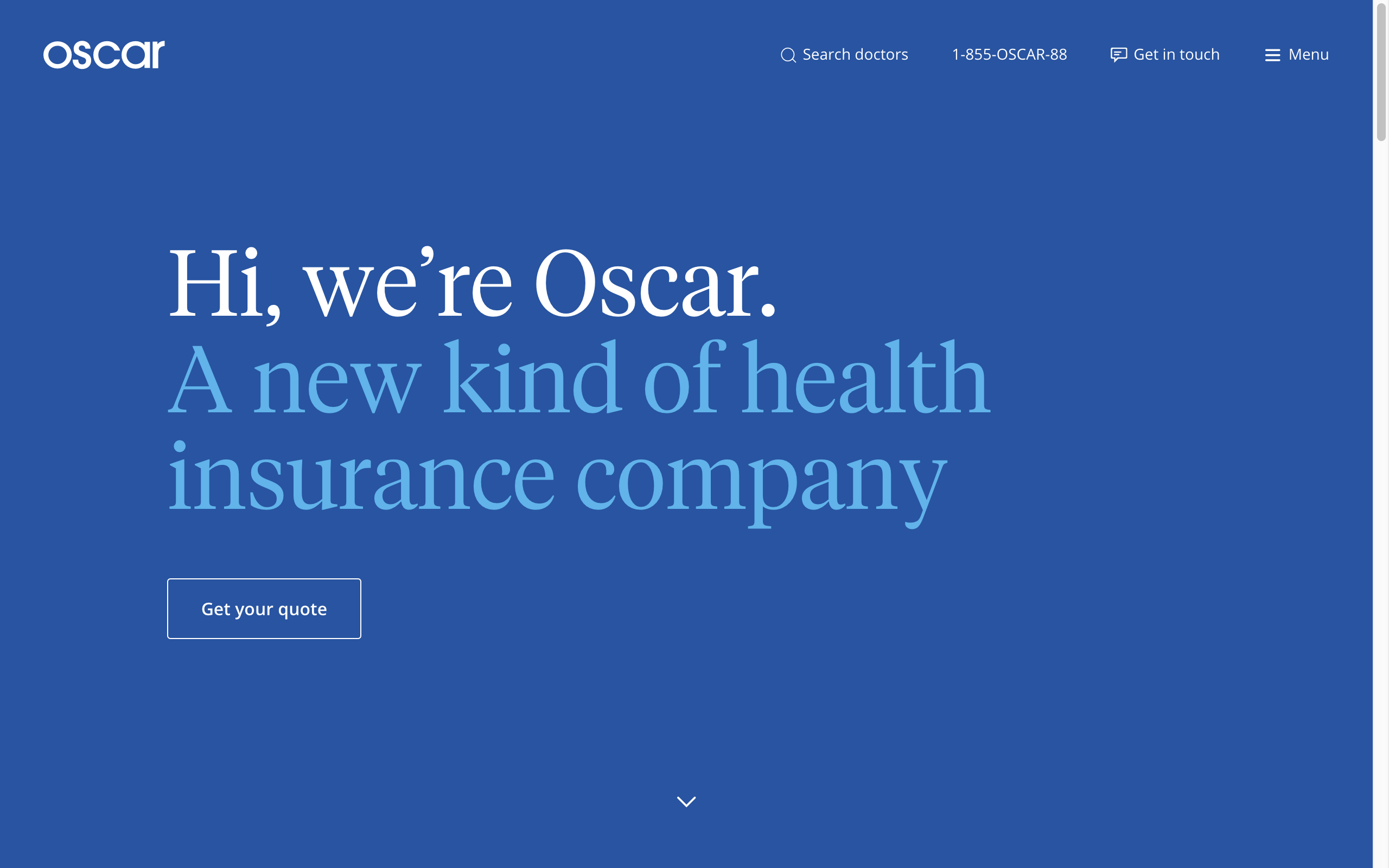 Health insurance companies, Be yourself