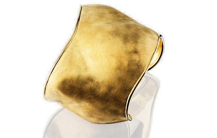 Dune Gold Cuff Bracelet