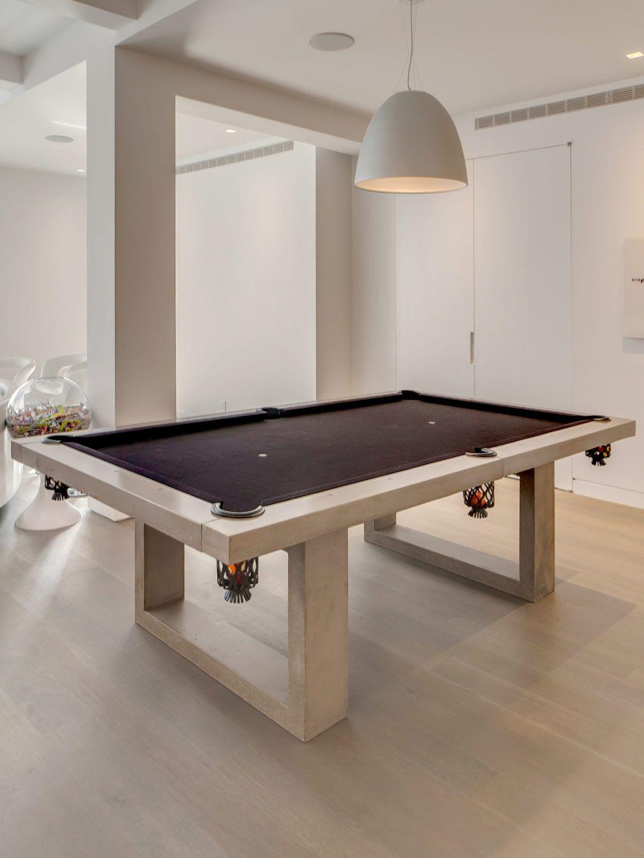 Pool Table (Indoor) Gilt Home Modern pool table