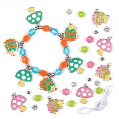 Hedgehog Charm Bracelet Kits