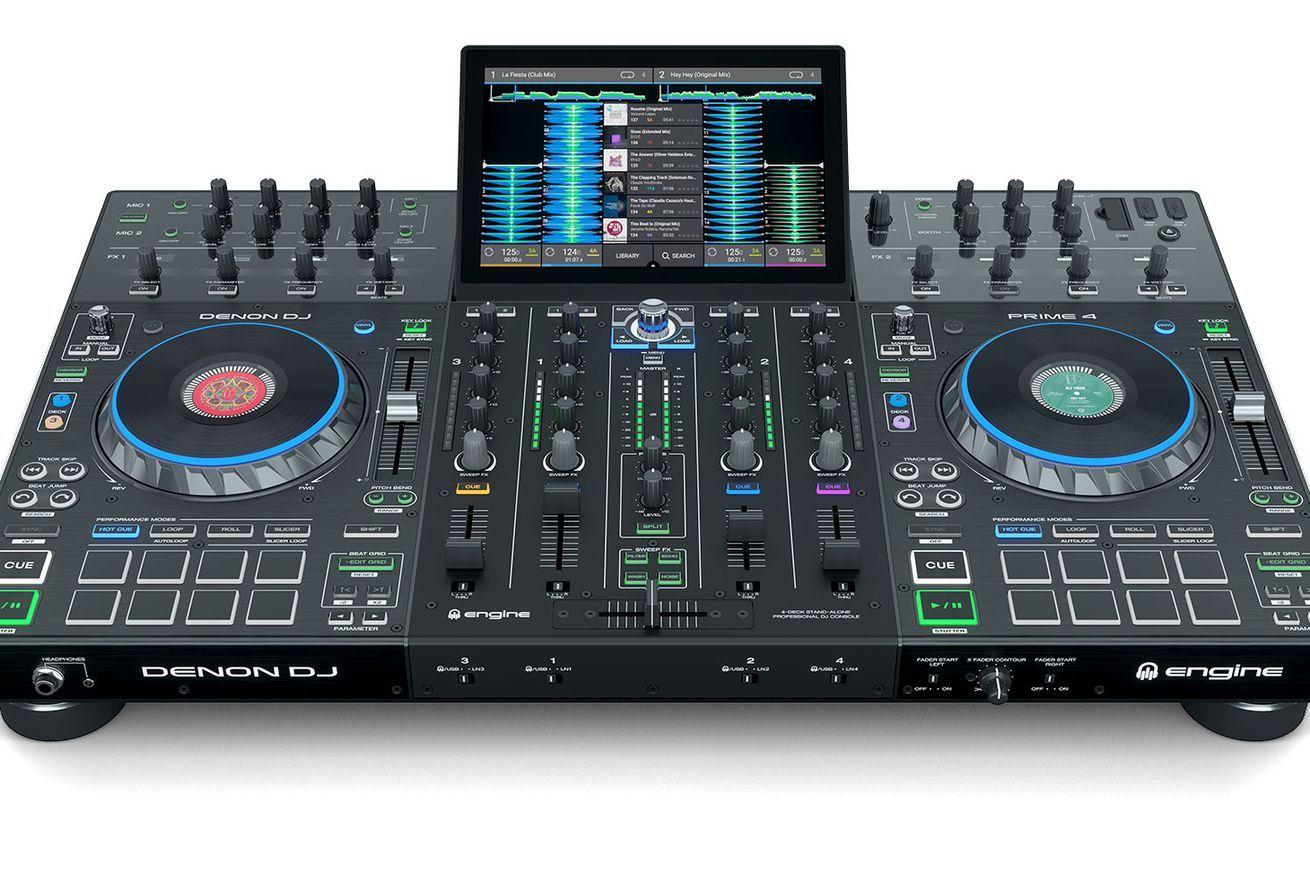Denon djs new fourchannel standalone unit shows