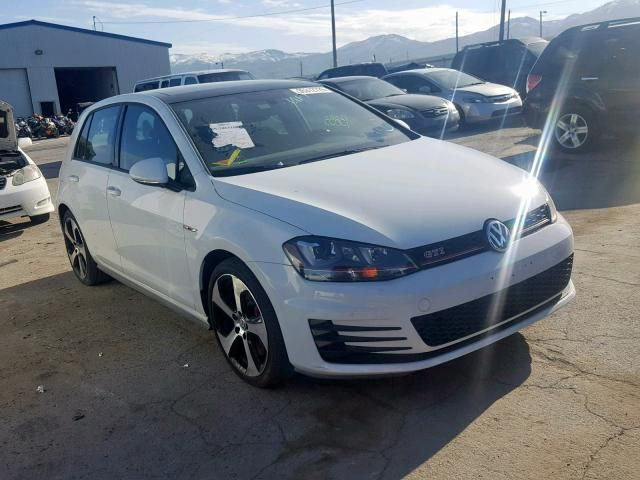 2016 volkswagen gti Salvage Cars Gti for sale, Salvage