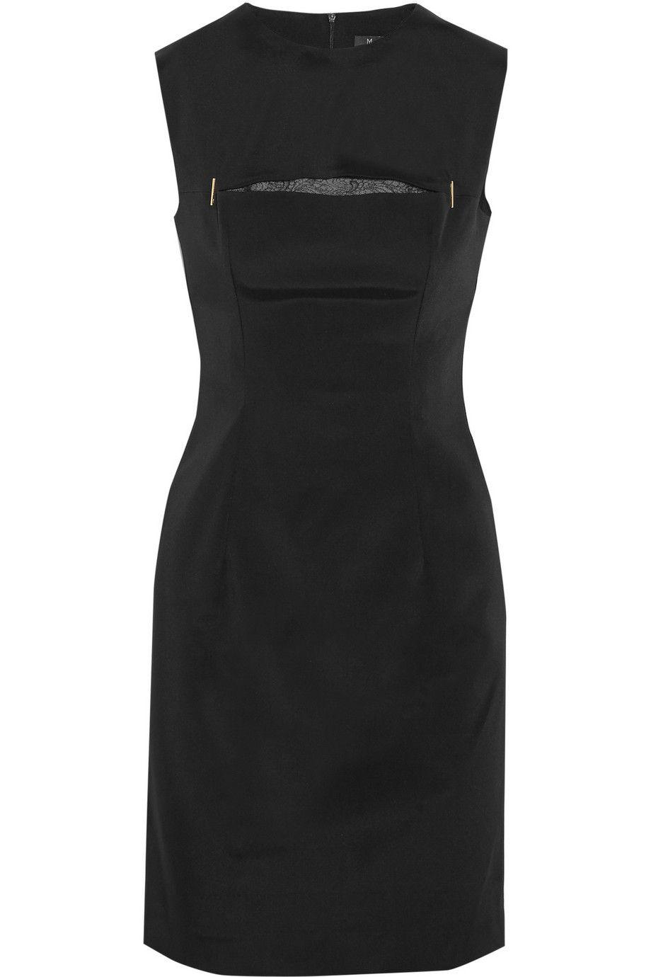 Slit-front crepe dress | Marios Schwab | 50% off | THE OUTNET