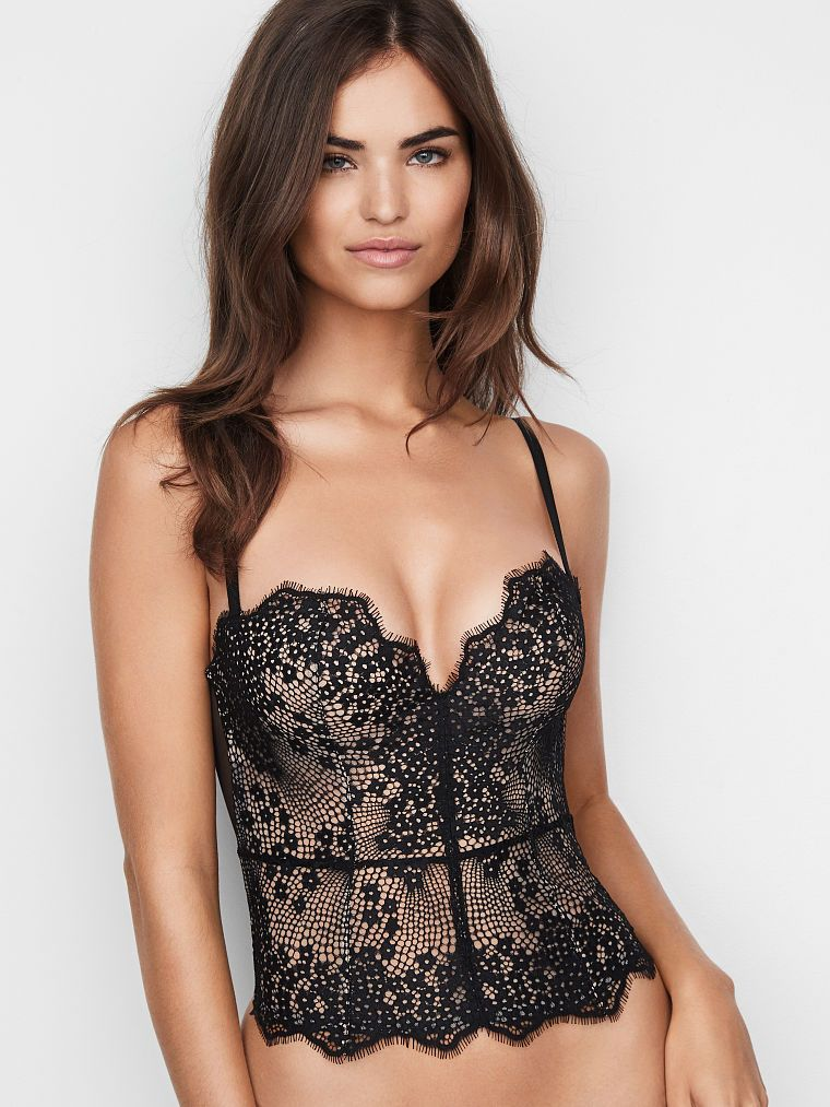 4453d6f9cb43a Mini Floral Lace Bustier - Dream Angels - Victoria's Secret ...