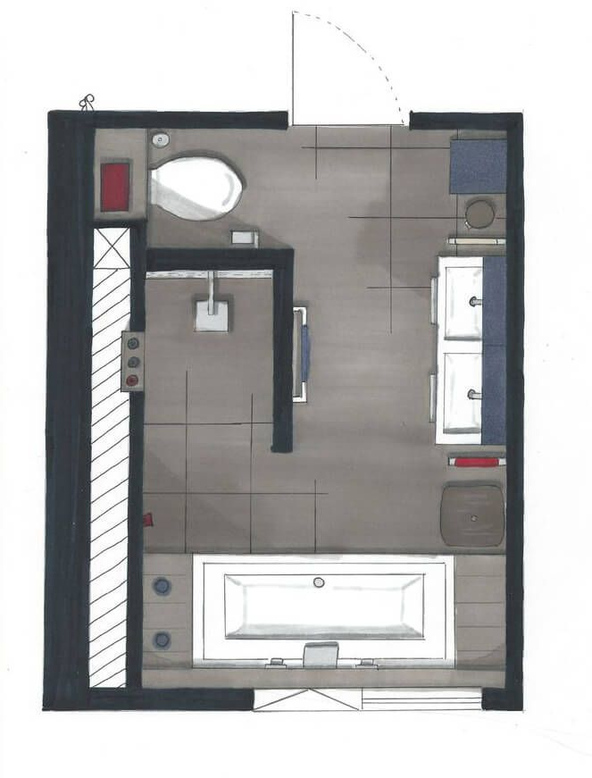 Bildergebnis Für Bad Grundriss 10 Qm Bathroom Floor Plans Bathroom Layout Bathroom Plans