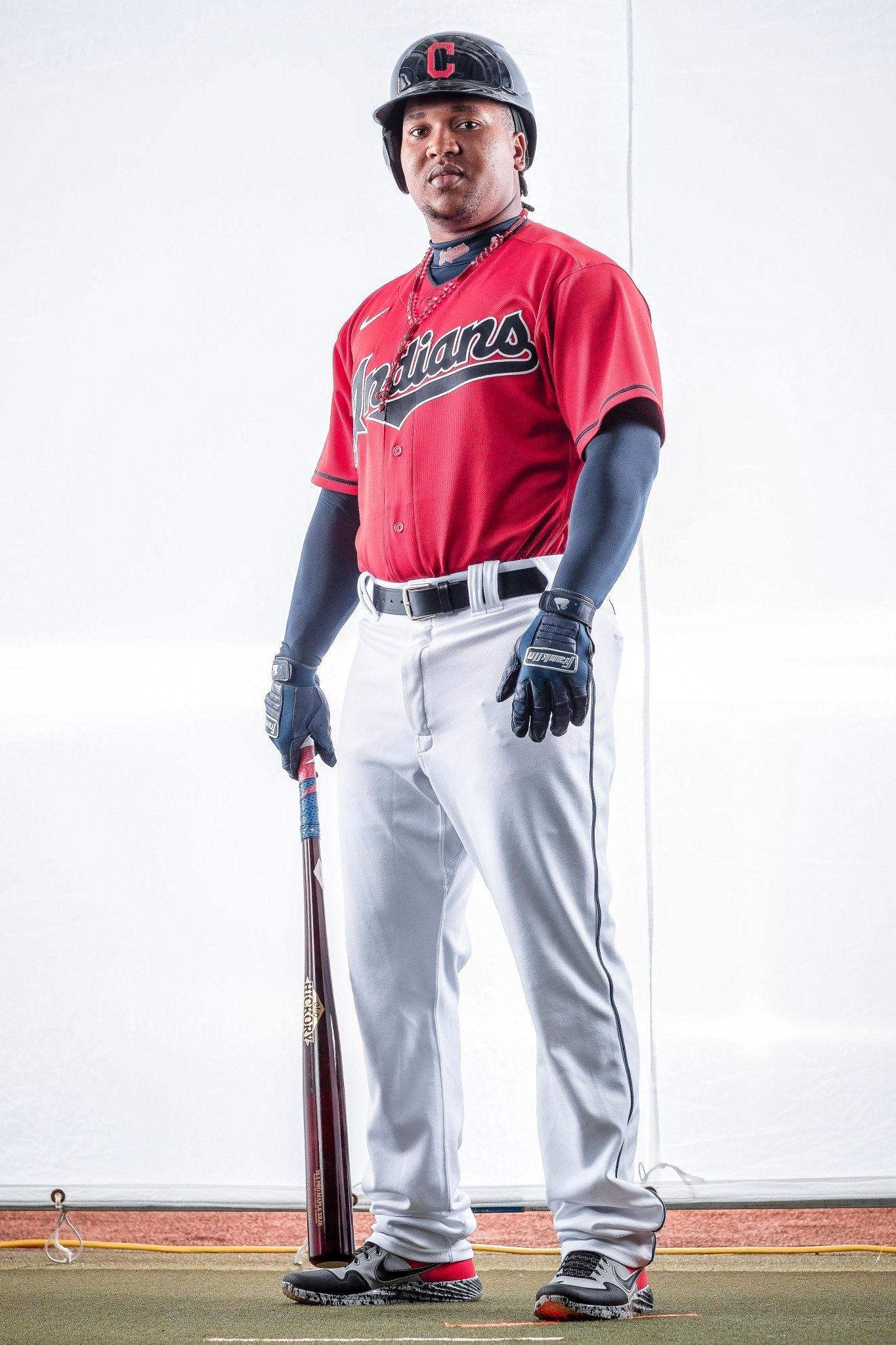 Cleveland Indians Jose Ramirez Spring Training Feb 2020 In 2020 Cleveland Indians Baseball Cleveland Indians Cleveland Baseball
