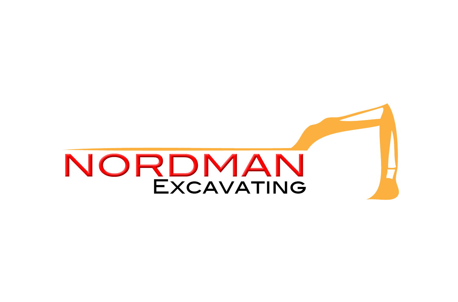 logo design excavating excavator construction logo pistolprints