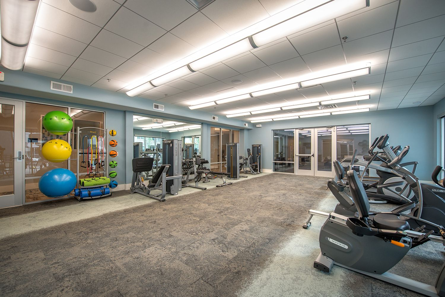 Gallery plano rental apartments fitness center