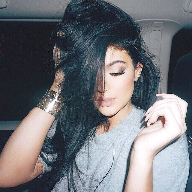 """""""On my way home from this shoot but the shoot hasn't really stopped"""" Photo taken by @kyliejenner on Instagram, pinned via the InstaPin iOS App! http://www.instapinapp.com (02/10/2015)"""