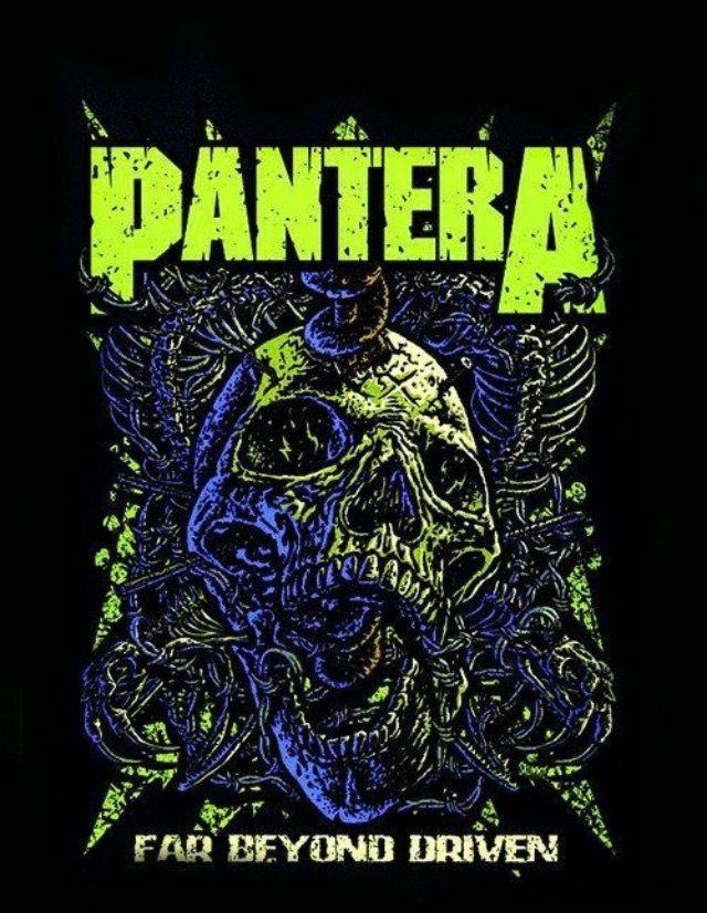 Pantera Far Beyond Driven Extreme Music In 2019 Pantera Band