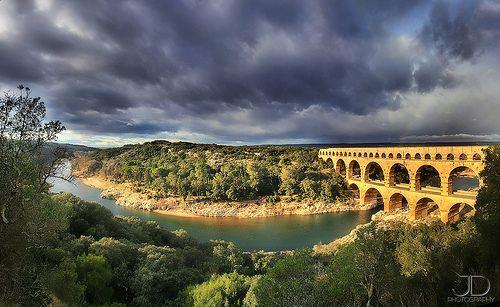 Point of vue - Pont du Gard - Panorama