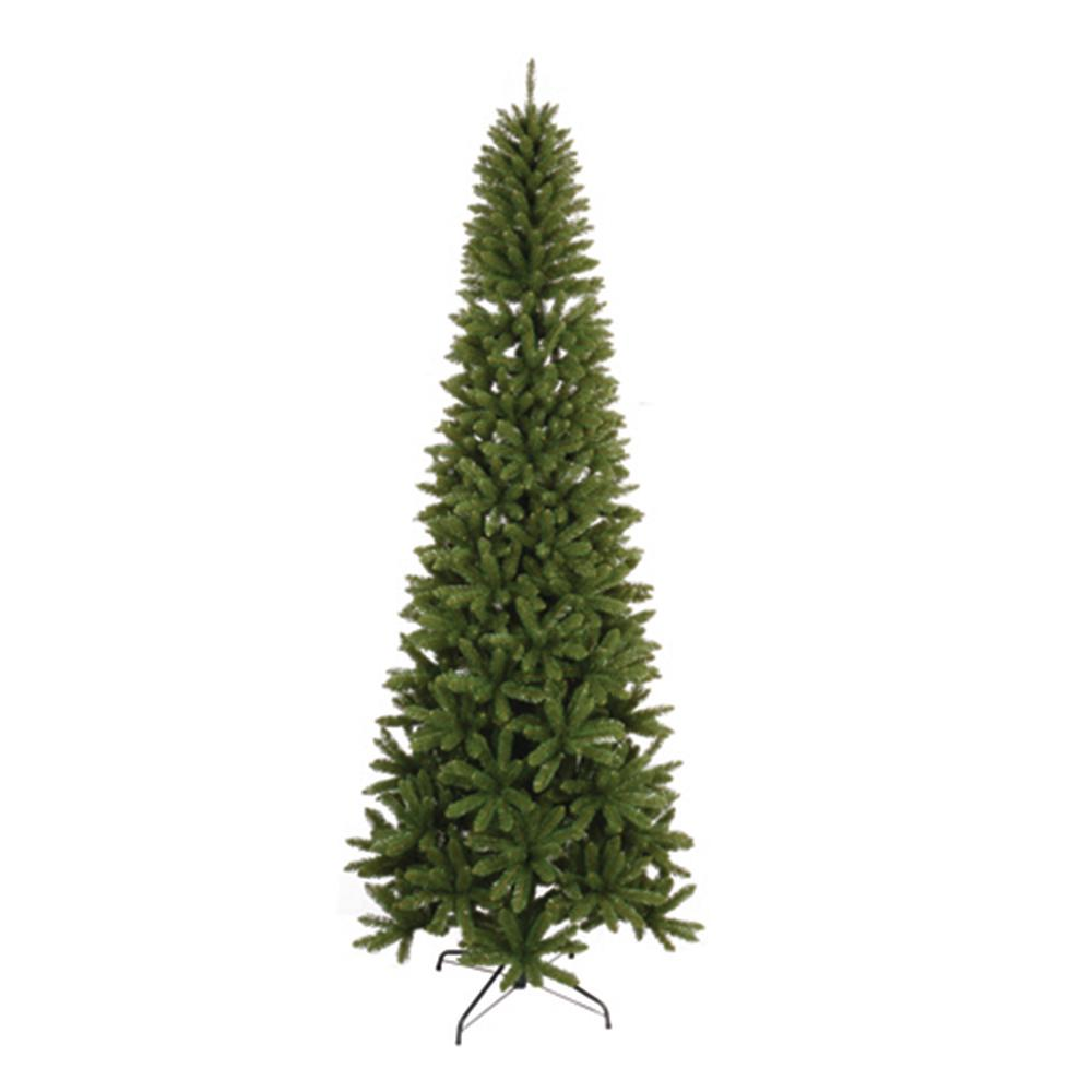 Santa S Workshop Inc 9 Ft Unlit Slim Artificial Christmas Tree With 1302 Tips Slim Artificial Christmas Trees Spruce Christmas Tree Christmas Tree
