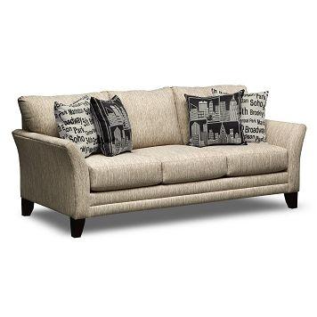 Union Square Upholstery Sofa   Value City Furniture