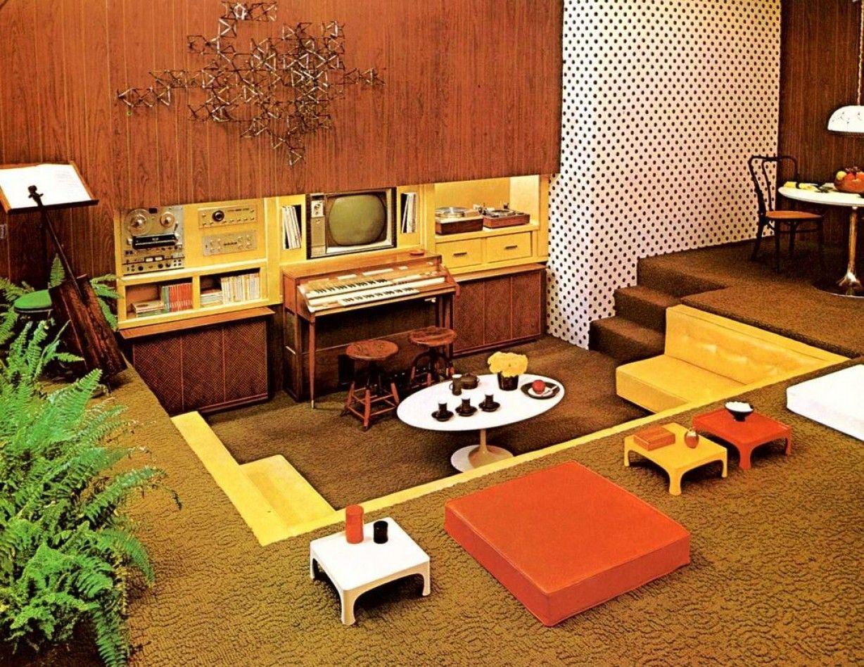 Keptalalat A Kovetkezore 70s Tablo Family Room Decorating
