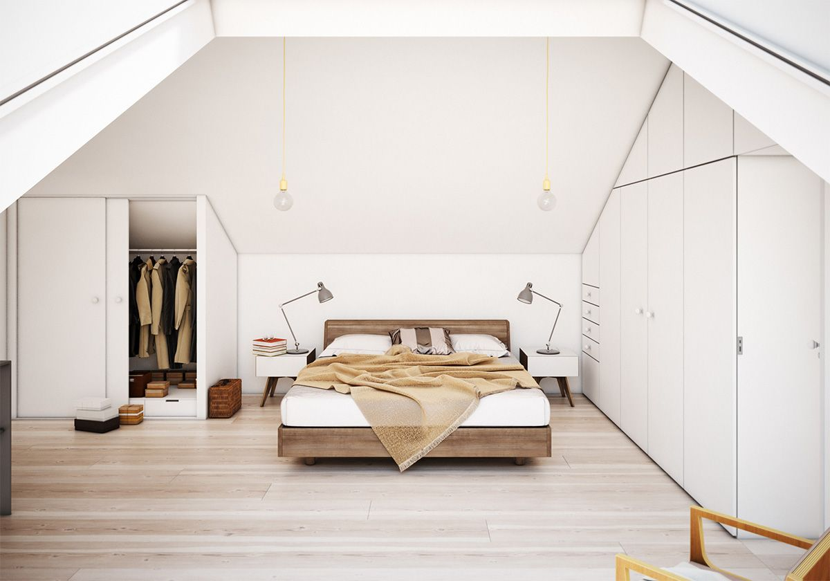 Tür Verstecken 25 amazing attic bedrooms that you would absolutely enjoy