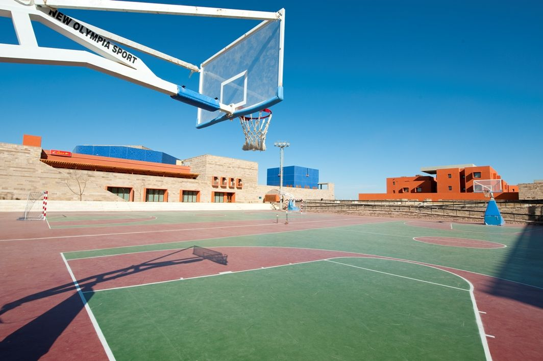 Outdoor Basketball Courts, AUC Including the Ahmed Gala