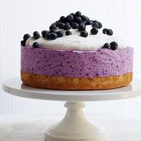 Frozen Blueberry Cheesecake that hits the sweet spot!