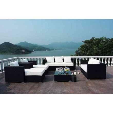 edinger fachmarkt gmbh: outflexx gartenmöbel polyrattan lounge, Gartenmöbel