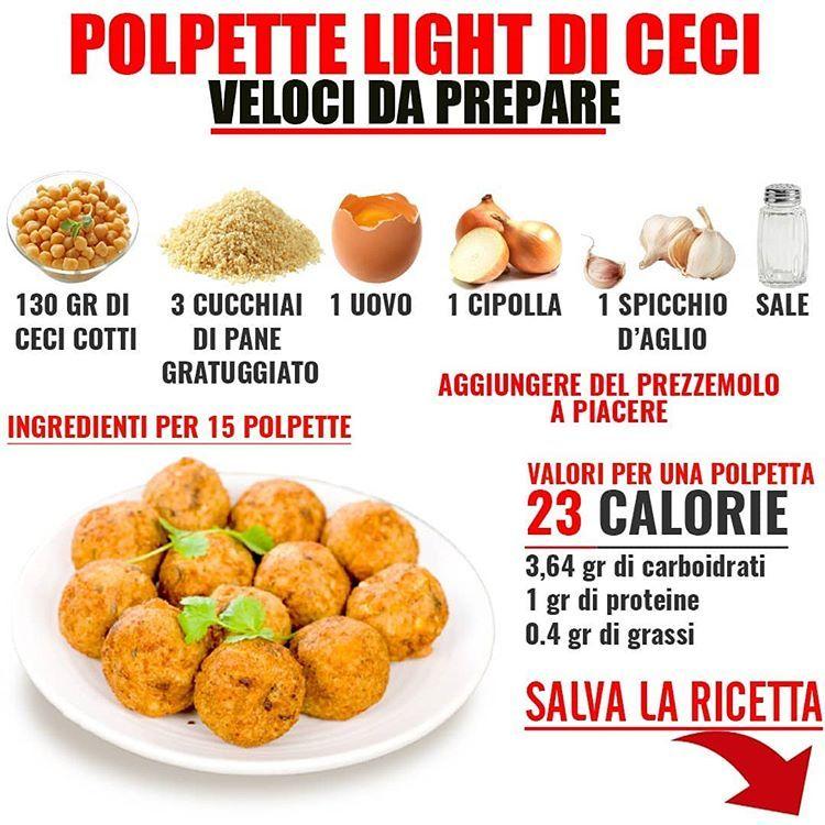 ricette dietetiche con calorie