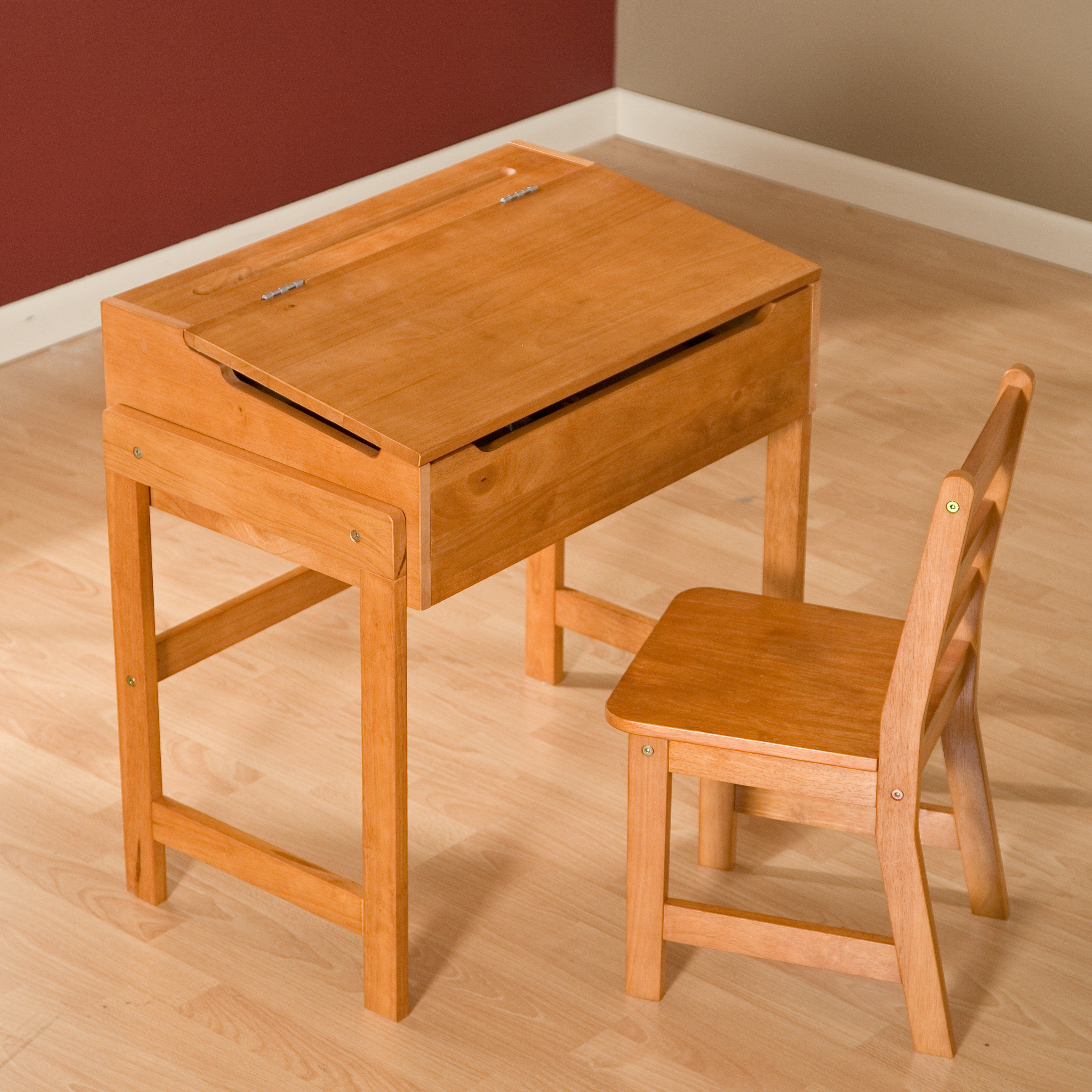 Kids Wooden Desk Schoolhouse Desk And Chair Set Desk And Chair Set Kids Desk Chair Kids Wooden Desk