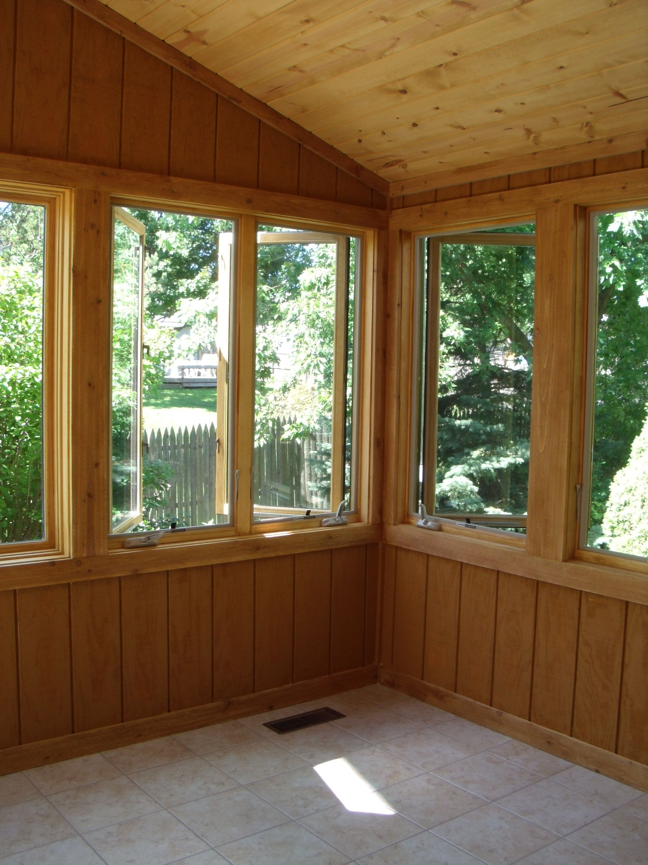 3 season porch window ideas  finished conversion from screened porch to sunroom  sunrooms