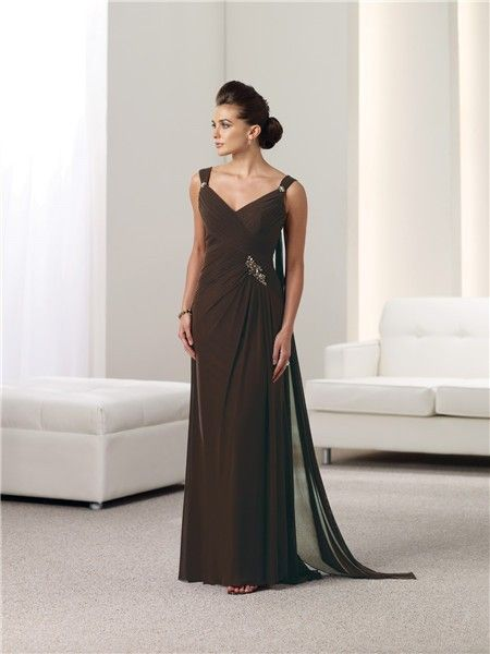Chocolate Mother of the Bride Dresses