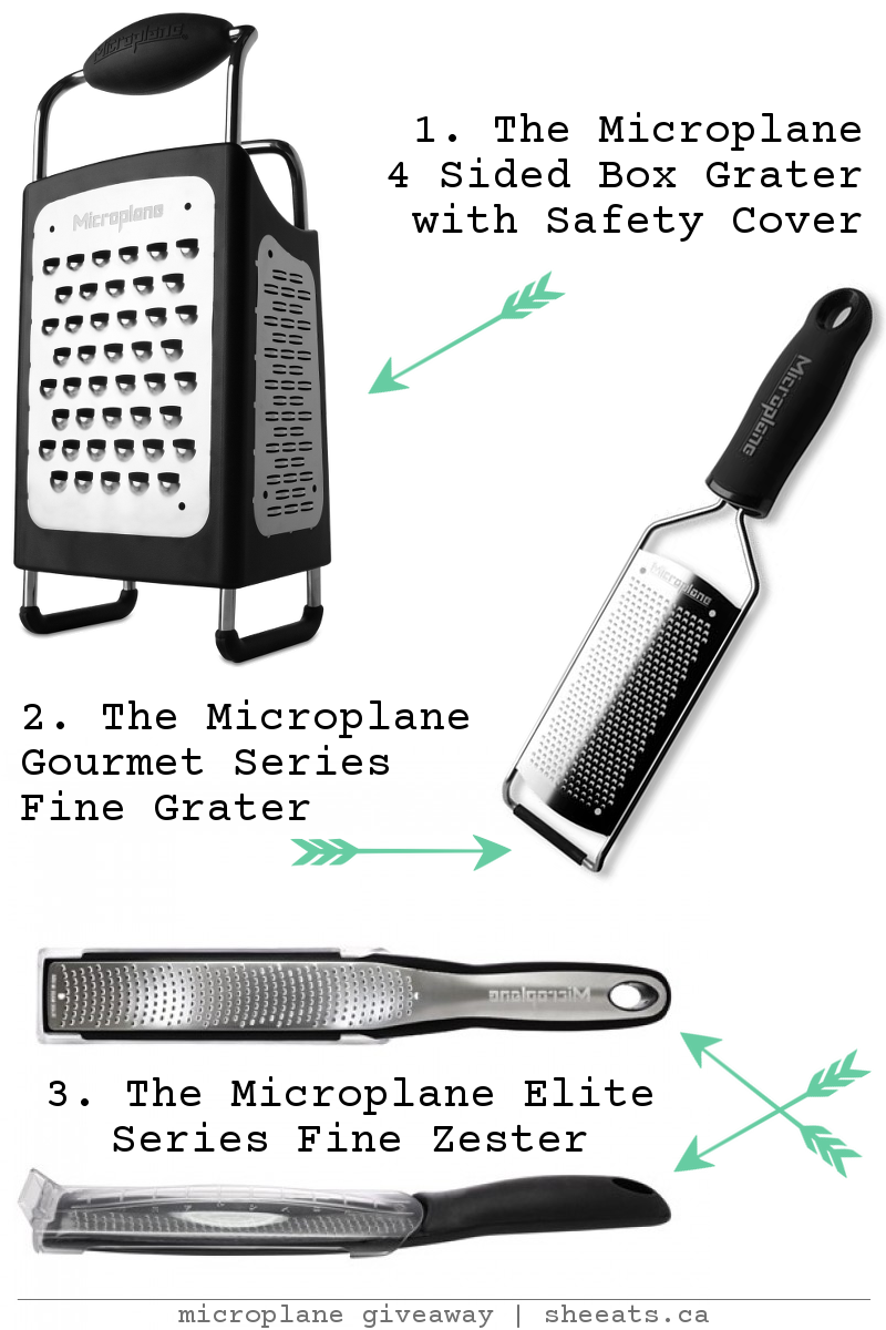 Giveaway: 1 Of 3 Microplane Kitchen Tools