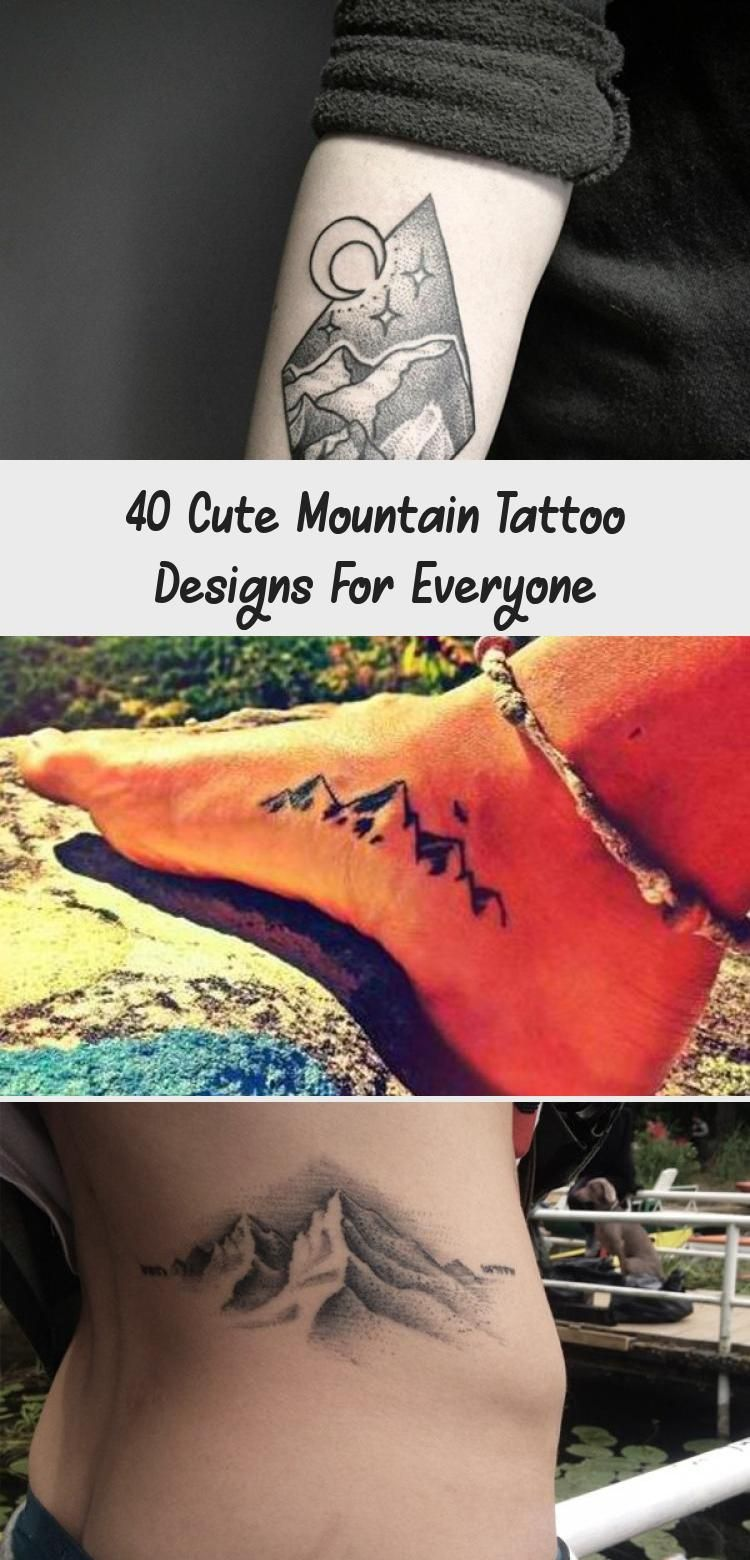 Photo of 40 Cute Mountain Tattoo Designs for Everyone – Hobby Lesson #travelingtattosGirl…