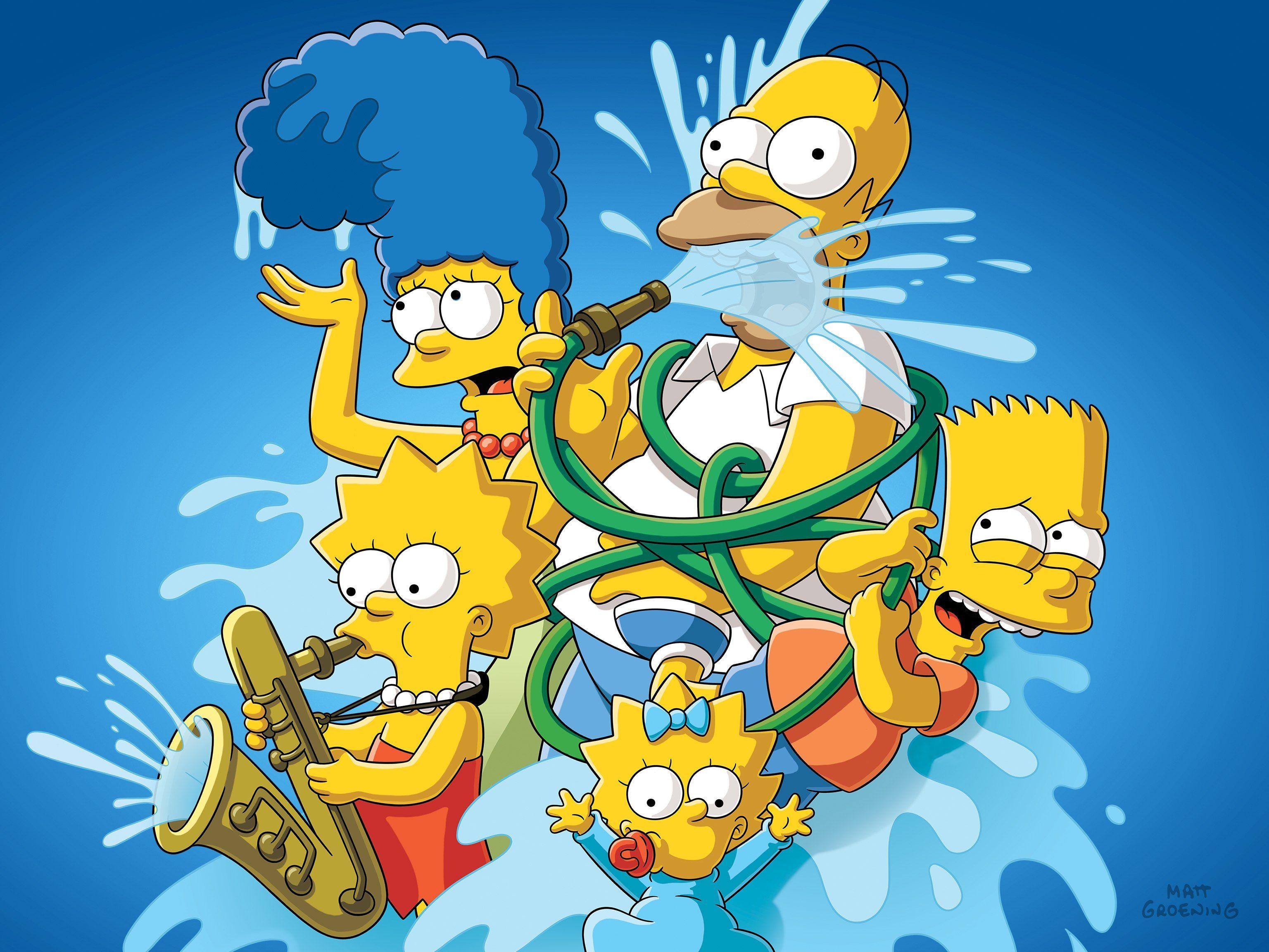 tecknad porr Simpsons Bart och Lisa
