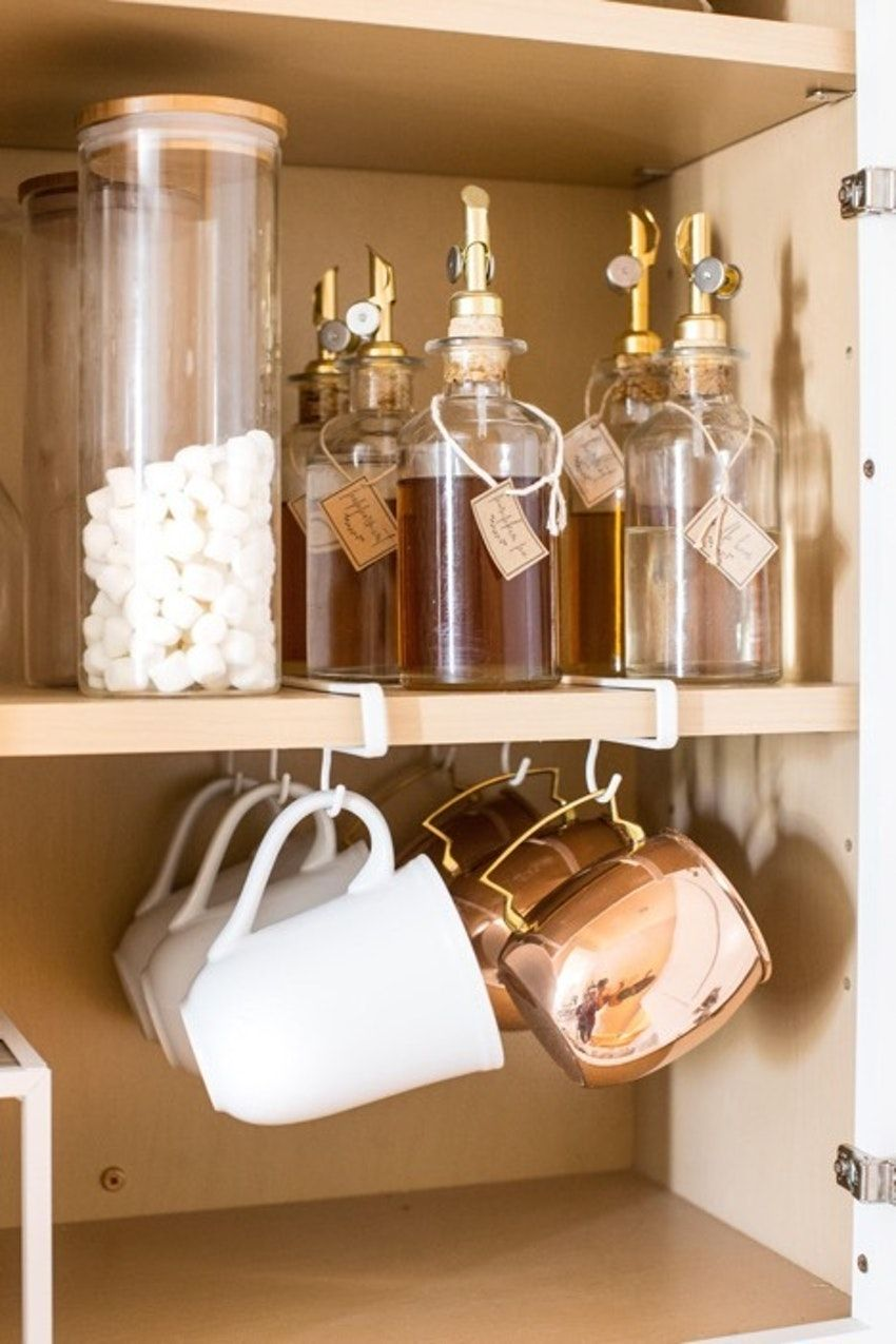 How to Organize Your Glassware Cabinet Once and Fo