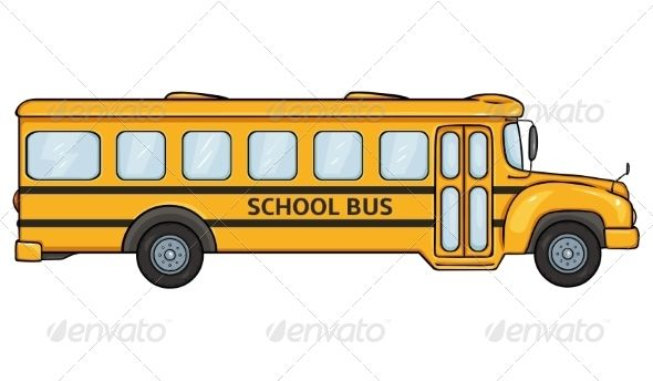 School Bus School Bus Bus Yellow School Bus