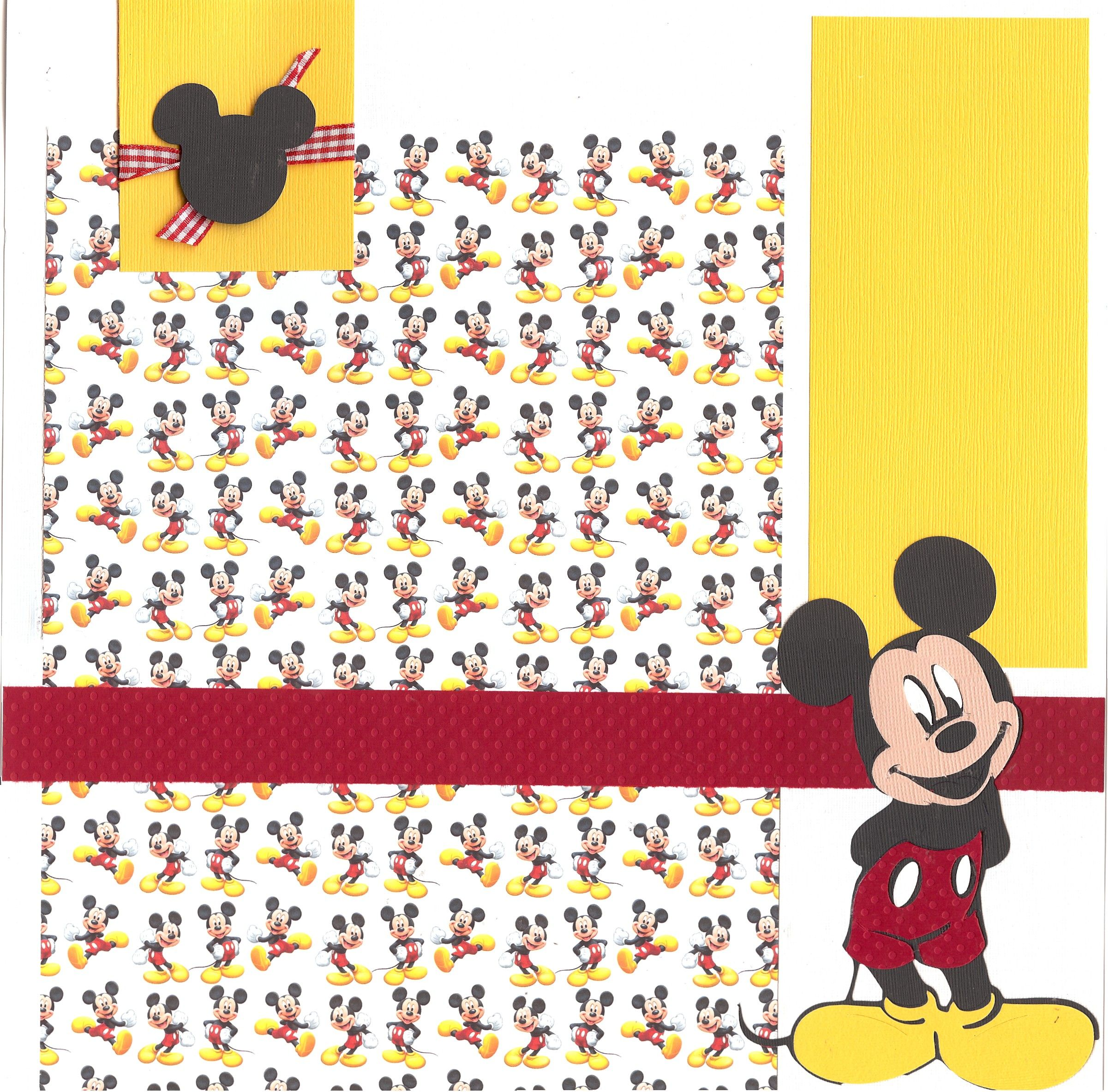 Disney Scrapbook Layouts Crop A Latte Page Kits Crops And