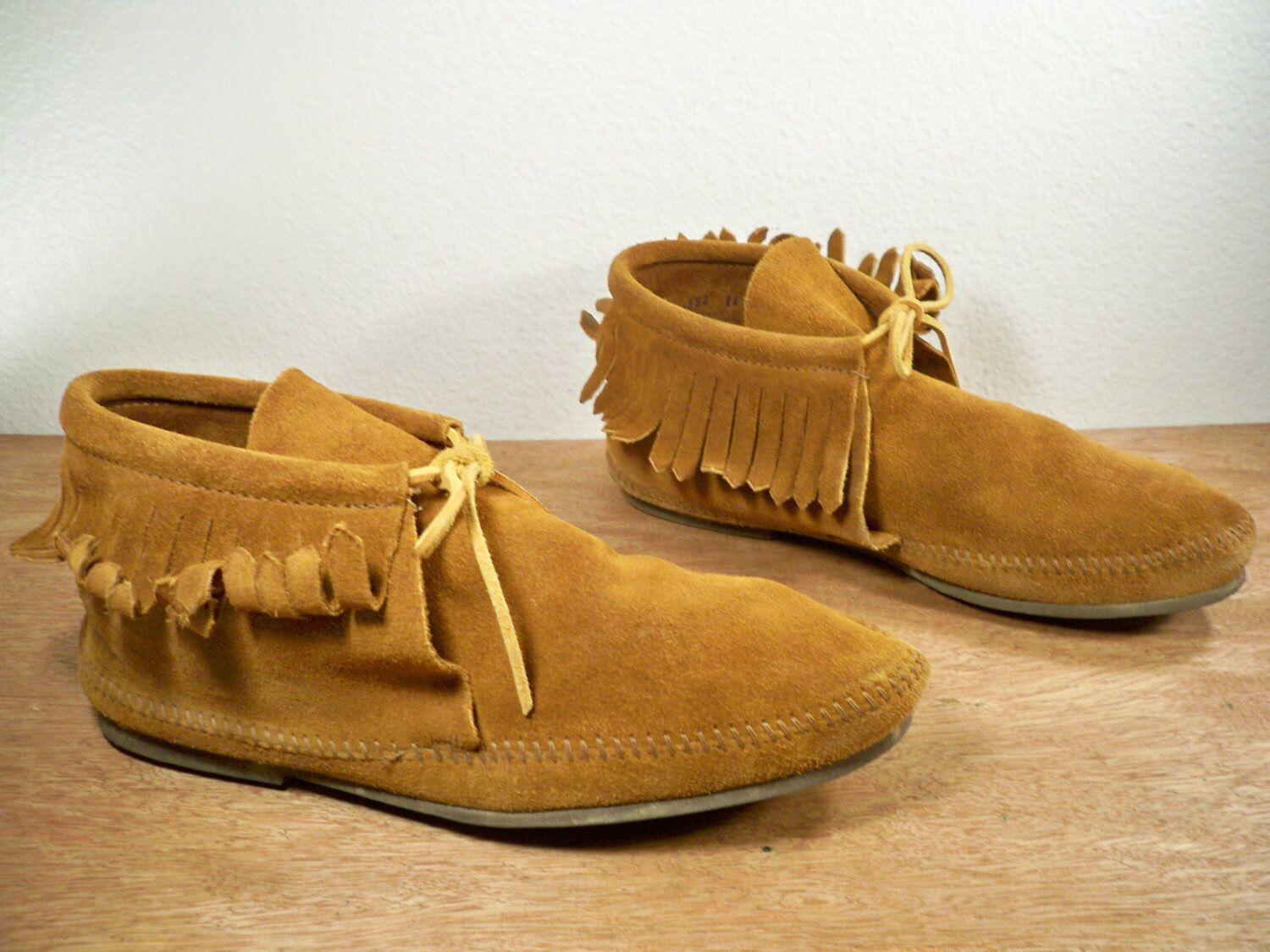 Moccasins leather shoes