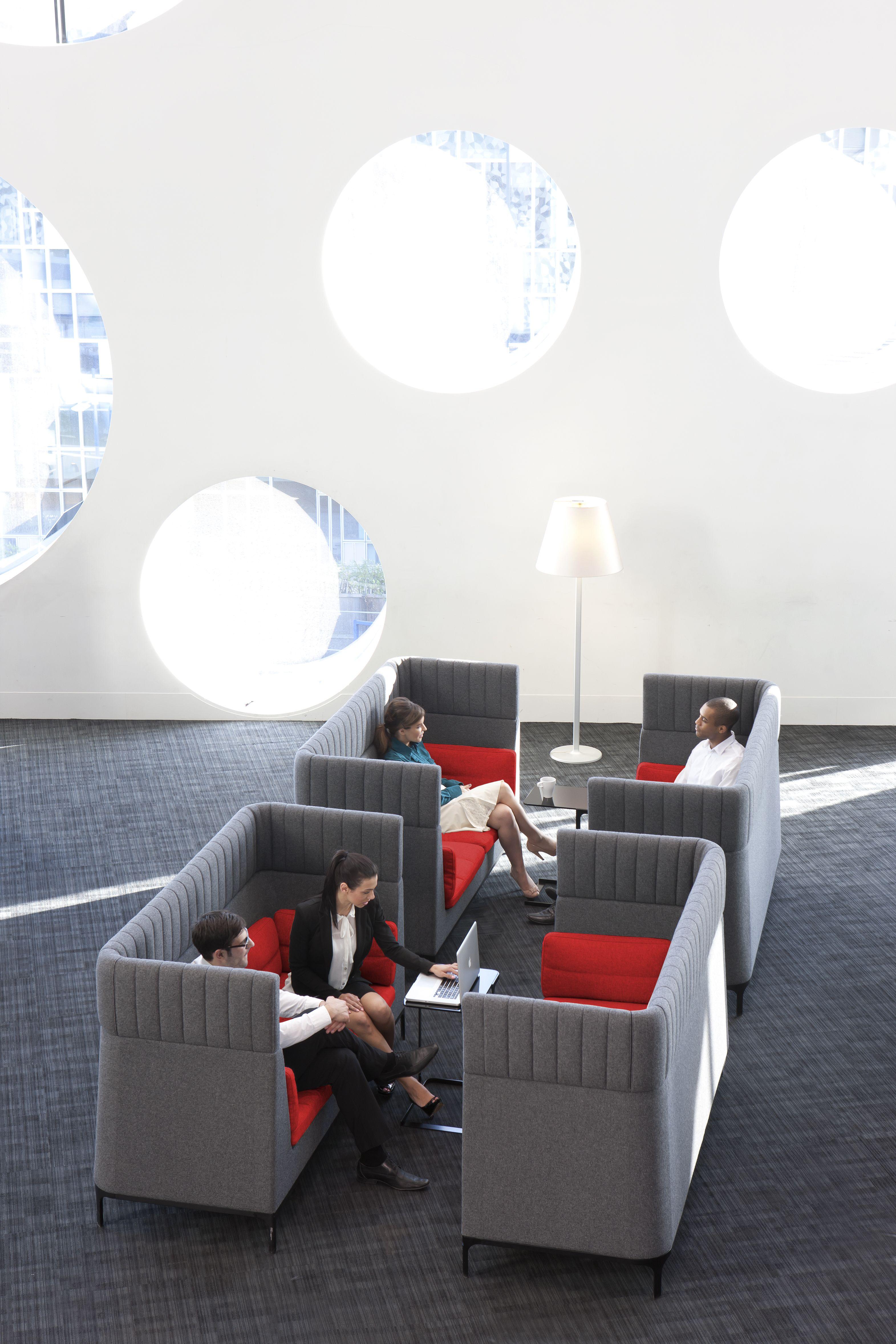 Haven High Back Sofa Modular Furniture Designed By Mark