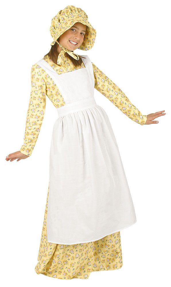 7b825e590bd PRAIRIE DRESS COSTUMEProm Dresses. Pioneer girl Pioneer Apron ...