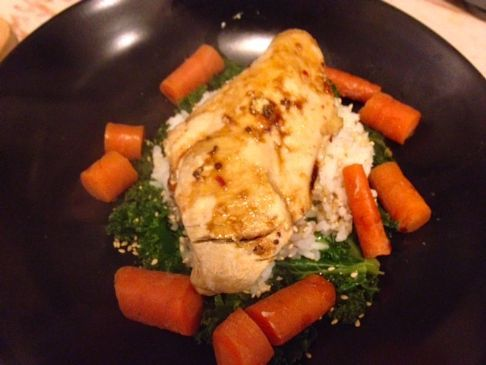 Steamed asian chicken kale and carrots in the bamboo steamer steamed asian chicken kale and carrots in the bamboo steamer recipe bamboo steamer recipes steamer recipes and steamers forumfinder Image collections