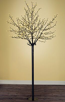 8 Foot City Of Lights Tree Warm White Indoor Outdoor