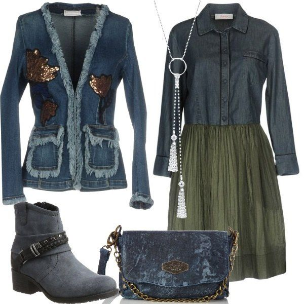reputable site 388cd 7c142 Pin su Outfit donna