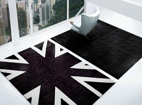 alfombras modernas Alfombras Pinterest Alfombra moderna