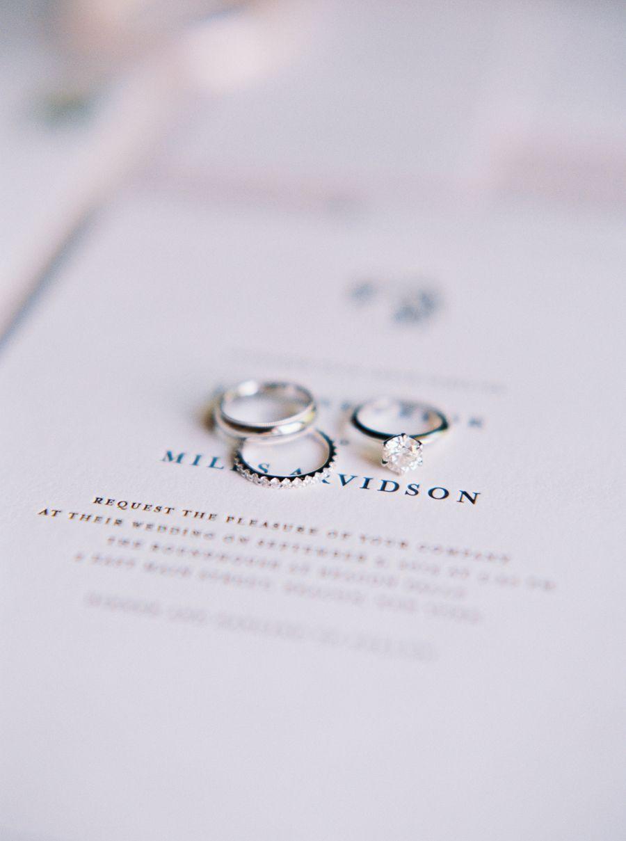 Invitations: Bella Figura - http://www.stylemepretty.com/portfolio/bella-figura Photography: Kate Ignatowski Photography - http://www.stylemepretty.com/portfolio/kate-ignatowski-photography   Read More on SMP: http://www.stylemepretty.com/2015/11/24/elegant-fall-wedding-in-an-old-textile-factory/