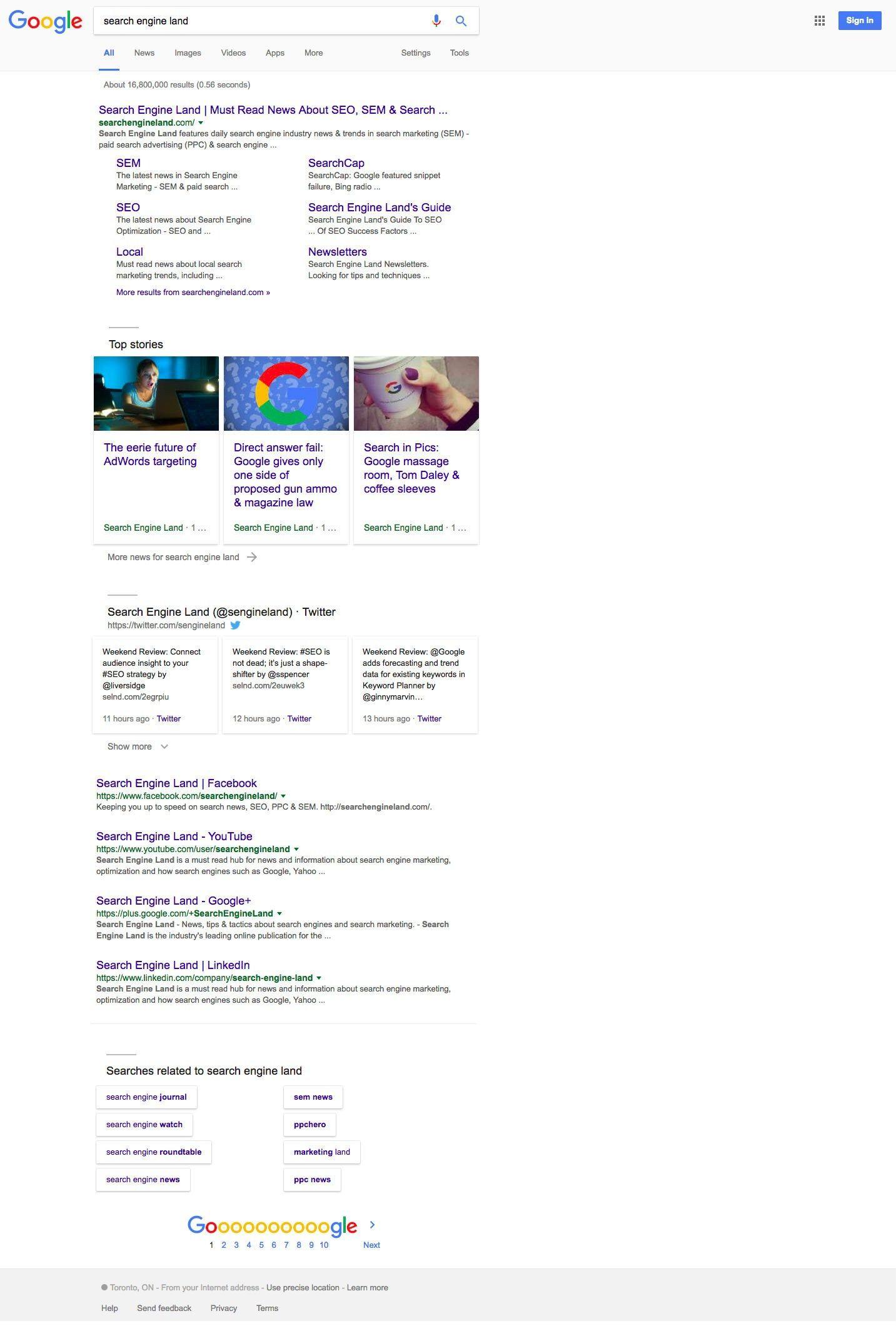 Google teste une nouvelle interface