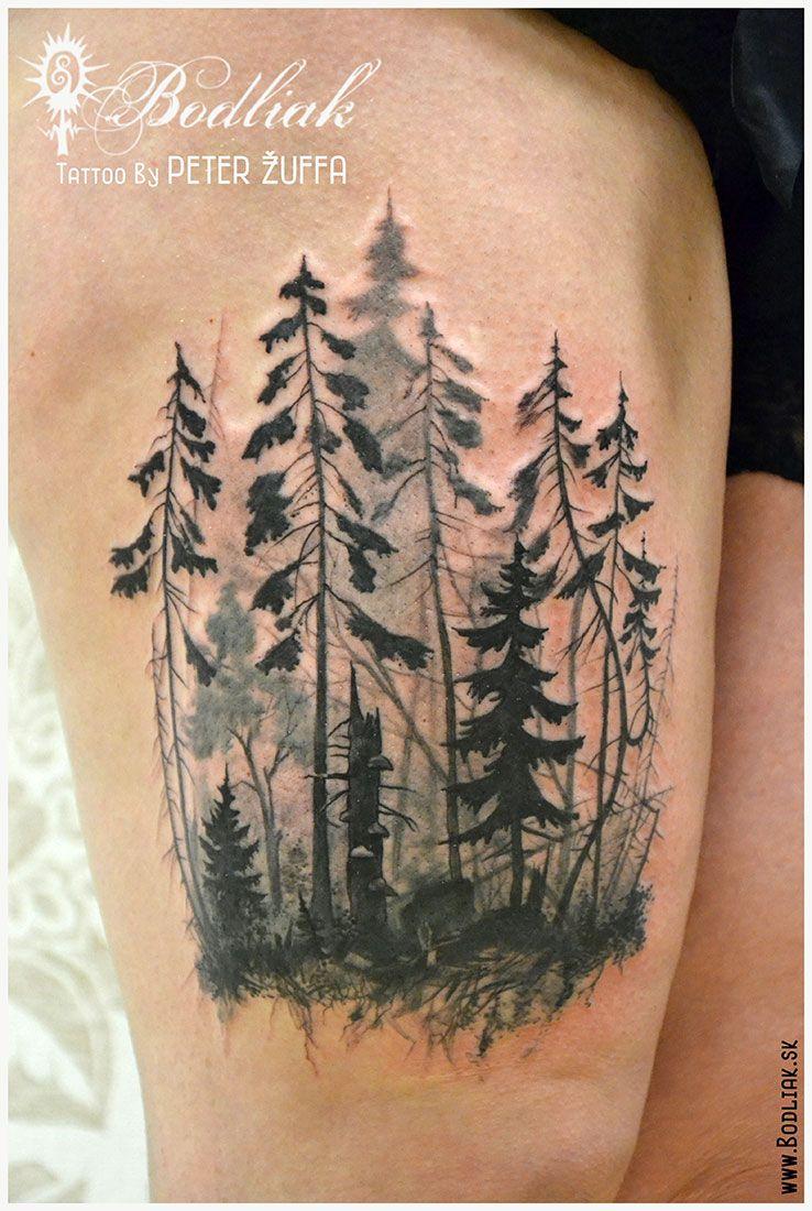 Peter Žuffa #art #tat #tattoo #tattoos #tetovanie #original #tattooart #slovakia #zilina #bodliak #bodliaktattoo #bodliak_tattoo #forest_tattoo